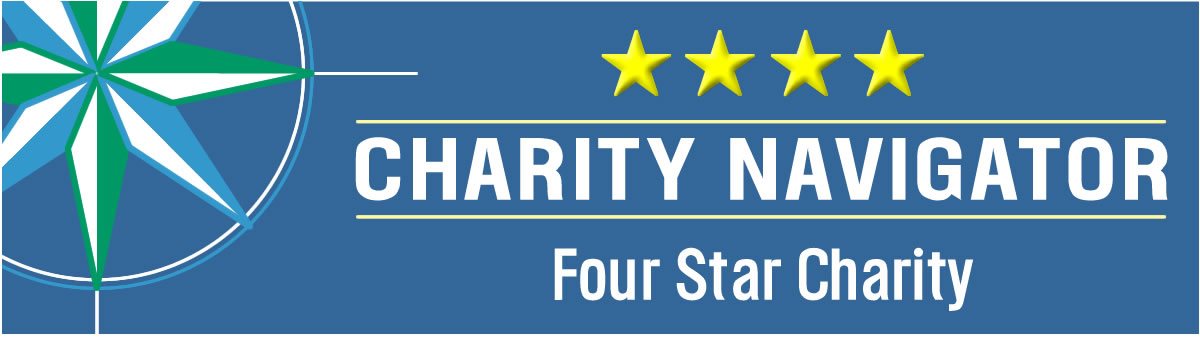 4-Star Rating from Charity Navigator