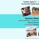 Young Adult Summer Meet-and-Greet
